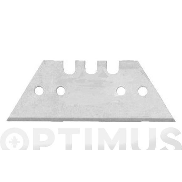 BLISTER HOJA CUTTER 60 MM TRAPEZOIDAL (10UNID.)