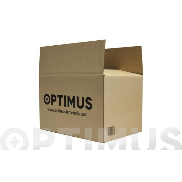 CAJA CARTON EMBALAR MARRON OPTIMUS 40 X 40 X 30 CM.